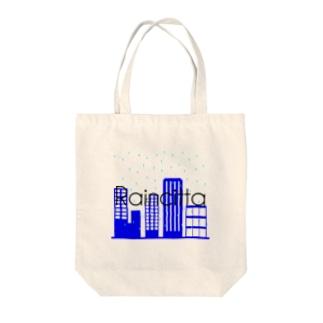 Raincittaロゴ Tote bags