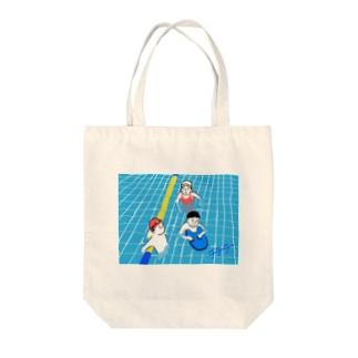 【チチチアニメーション研究シリーズNo.24】の「区民プール」 Tote bags