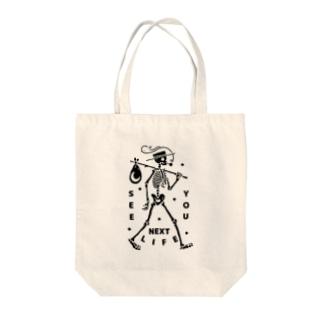 お盆のイラスト Tote bags