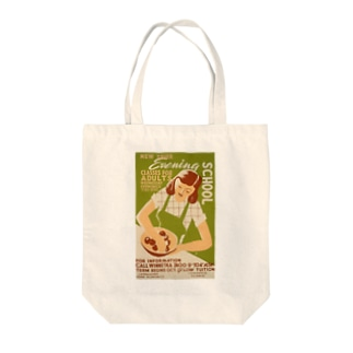 Vintage Poster Cooking Classes:ヴィンテージ 料理教室ポスター Tote bags