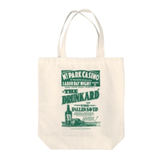 Vintage Theatre Poster:ヴィンテージ劇場ポスター(グリーン) Tote bags