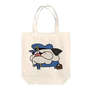 パグ男子中学生 Tote bags