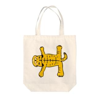 おまぬけなトラさん Tote bags