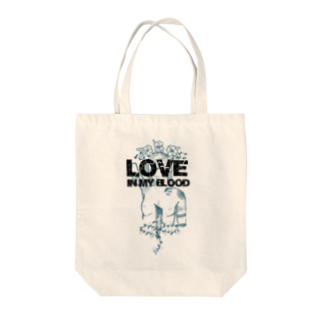 Mukade byのLove in my blood Tote bags