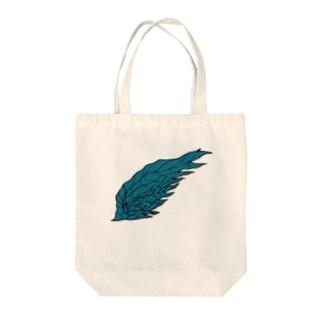 ミドリのツバサ Tote bags