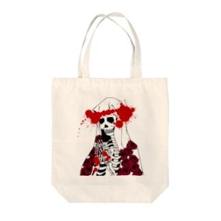 ScapegoatのStigmate-Memento Mori Tote bags