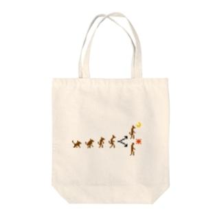 ジンロウノシンカ Tote bags