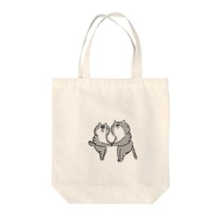ねこちゃん Tote bags