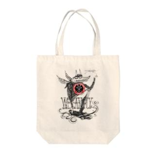 Saki Murakami X Skateboarding Japan T-shirt Tote bags