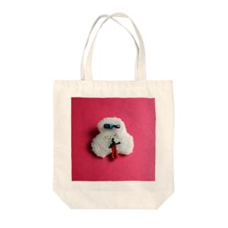 うちのハナちゃん Tote bags