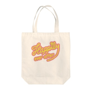 Happily ever after pink Tote bags