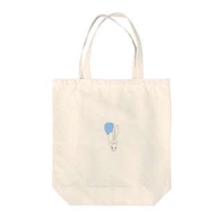balloonうさぎ Tote bags