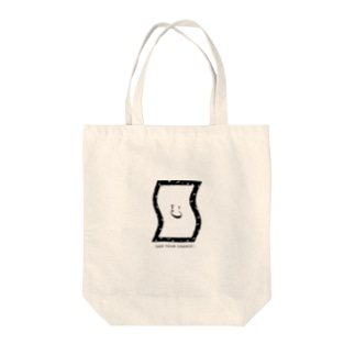 TYCにこちゃん Tote bags