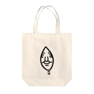 中に人がいる Tote bags