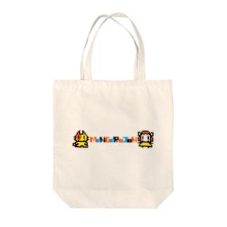 モンゴロジョンドット Tote bags
