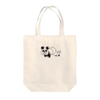 【NANN TO NAKU】いもぱん Tote bags