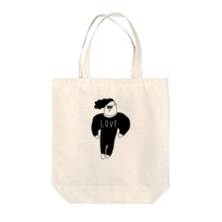 LOVE男子 Tote bags