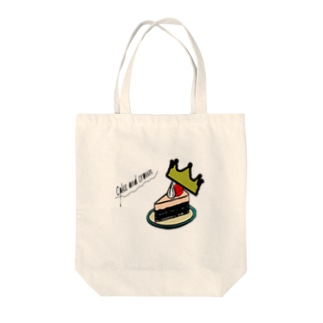 「CAKE」 Tote bags
