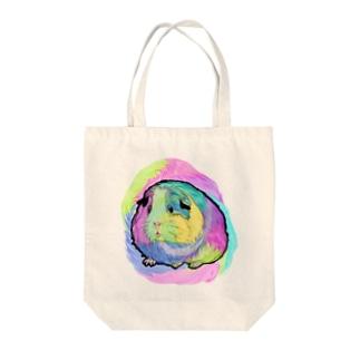おサイケモルちゃん Tote bags