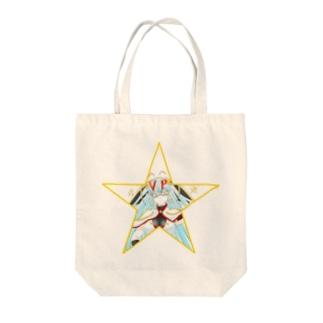 ティッシュババア(星型)トートバッグ Tote bags