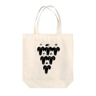 語る男子団体 Tote bags
