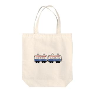 Local train Tote bags