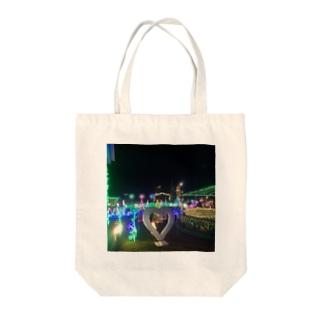 ラッキーピエロの総本店イルミネーション(^^) Tote bags