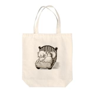 ちいさなベッド Tote Bag