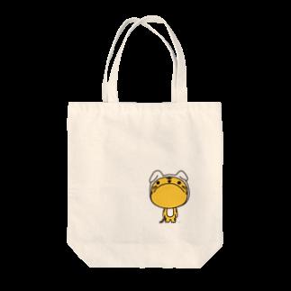 暇人アフロのうさとら。 Tote bags