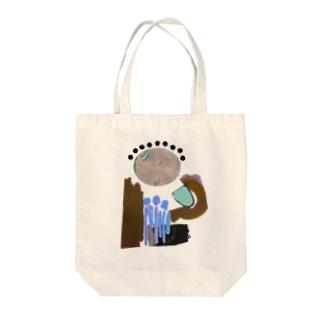 水あげ Tote bags
