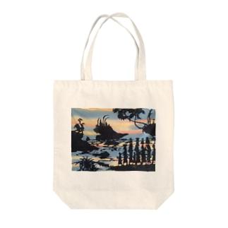 インドネシアのバリ島 Tote bags