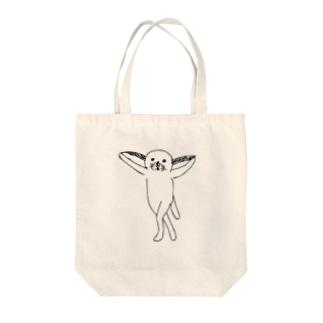 みみのびた Tote bags