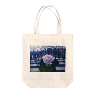 my rose Tote bags