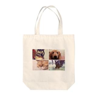 かわいいなかまたち2 Tote bags