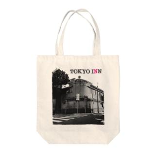 TOKYO INN Tote bags