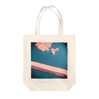 SHUFFLE Tote bags