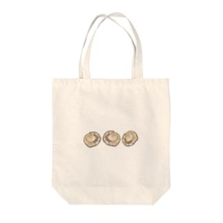 ほたて〜? Tote bags
