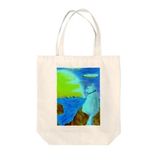 港ねこ・明朝 Tote bags