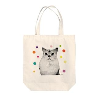 猫のひなた。 Tote bags
