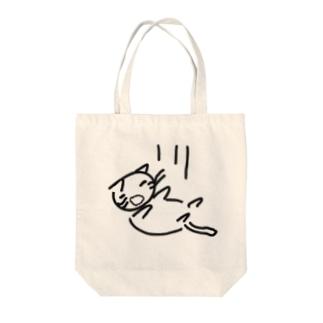 落ちている  可愛いのかどうかよくわからない猫 Tote bags