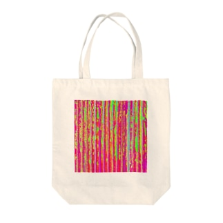 Flexible stripe 01 Tote bags