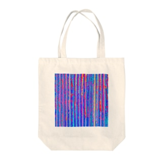 Flexible stripe 03 Tote bags