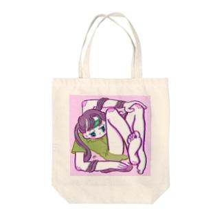 ワンルーム Tote bags