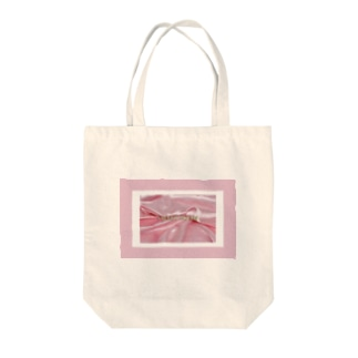 SWEET ROOM pink satin  Tote bags
