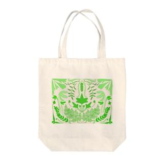 シダシンメトリー Tote bags