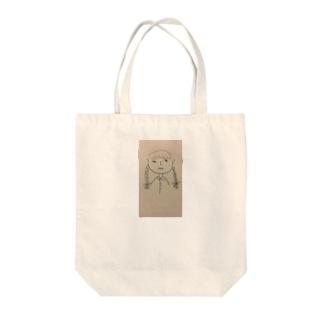 顔 マルコ Tote bags