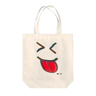 べ~ Tote bags