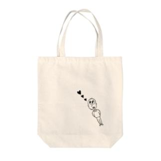 heart♡ Tote bags