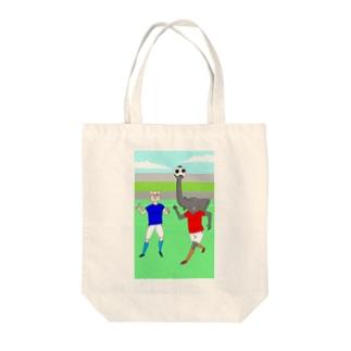 ボールを運ぶゾウ トートバッグ