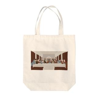 ナノサイゴノバンサン Tote bags